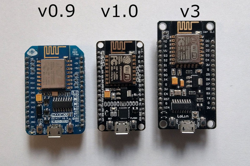 All these NodeMCU boards are suitable for the project